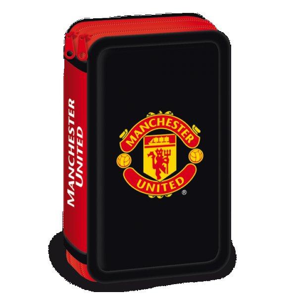 Manchester united несесер с два ципа