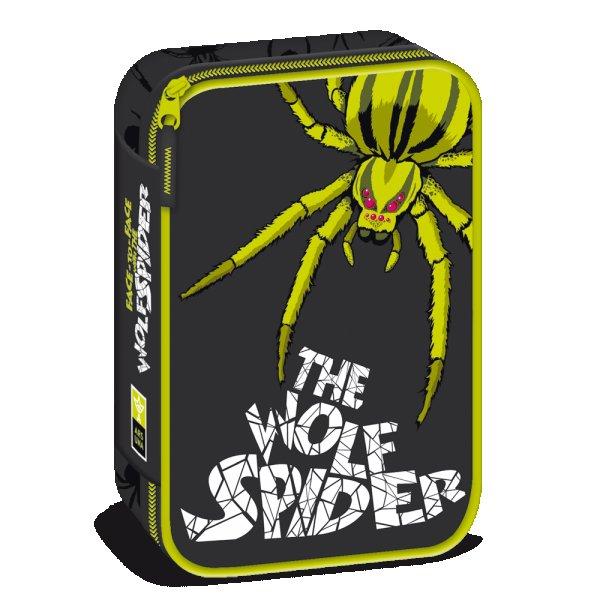 The wolf spider несесер с един цип на две нива