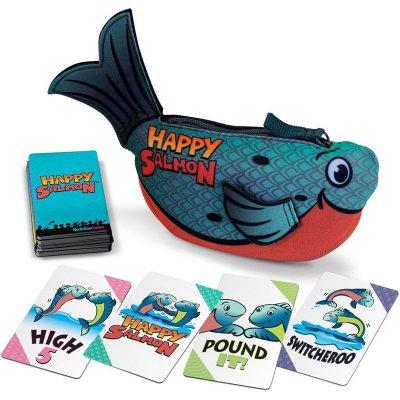 Happy salmon: Blue edition