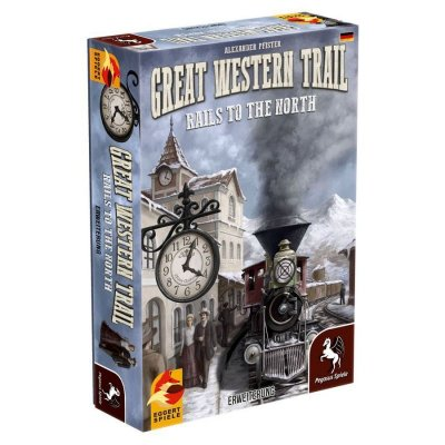 Great western trail: Rails to the north (немско издание)