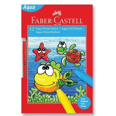Faber-Castell Маслени пастели, акварелни, 12 цвята