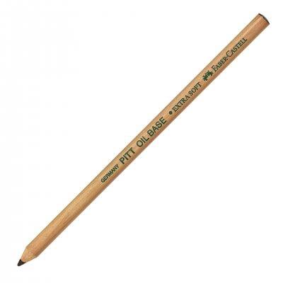 Faber-Castell Цветен молив Pitt Oil Base, ES, № 199, черен