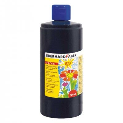 Eberhard Faber Темперна боя, 500 ml, черна
