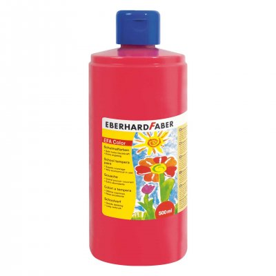 Eberhard Faber Темперна боя, 500 ml, кармин перманент