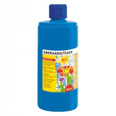 Eberhard Faber Темперна боя, 500 ml, синя