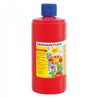 Eberhard Faber Темперна боя, 500 ml, аленочервена