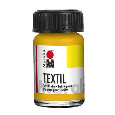 Marabu Боя за текстил 15 ml, 021, средно жълт