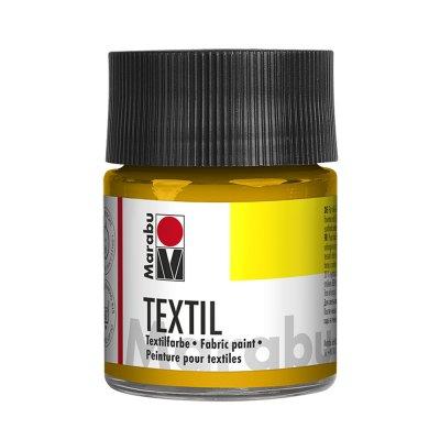 Marabu Боя за текстил, средно жълт, 50 ml, 021