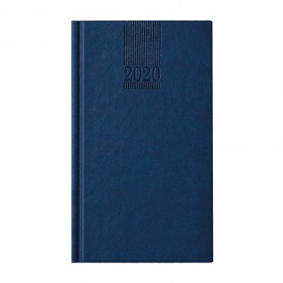Календар-бележник Поло, седмичник, 9 x 16 cm, син