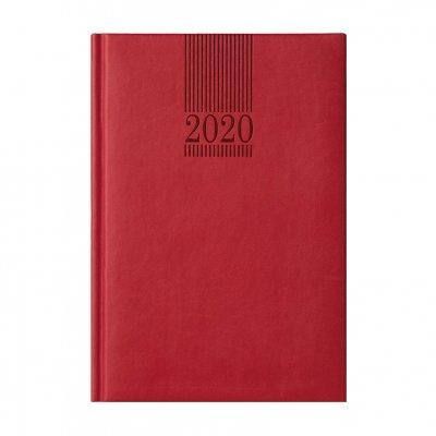 Календар-бележник Пикасо, без дати, A5, червен