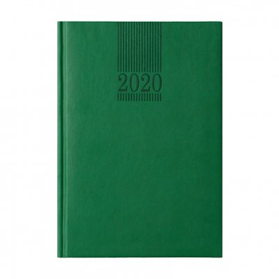 Календар-бележник Пикасо, без дати, А5, зелен