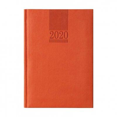 Календар-бележник Пикасо, без дати, A5, оранжев