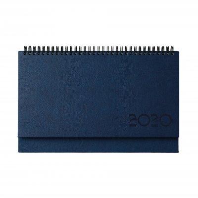 Настолен календар Казбек, 30 x 15.5 cm, син