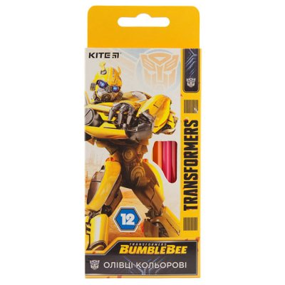 Цветни моливи Kite Transformers 12 цвята