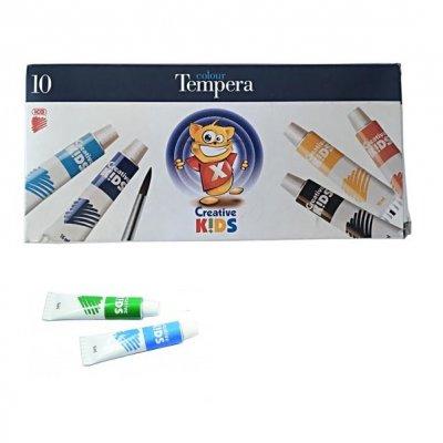 Темперни бои Ico Creative Kids 10 цвята, 16 ml
