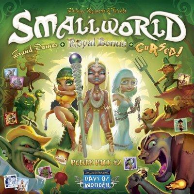 Small world: Power pack 2 (cursed! + grand dames + royal bonus)