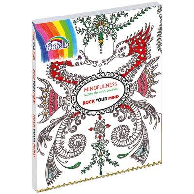 Книжка оцветяване Fiorello Rock 21.5x28.5cm 200л.