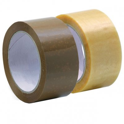 Лепяща опаковъчна лента Solvent 48 mm x 66 m Кафяв