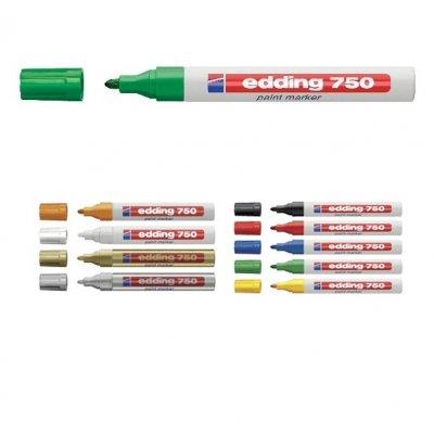Paint маркер Edding 750 Зелен