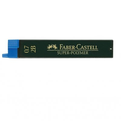 Графити мини Faber-Castell 2B 0.7 mm
