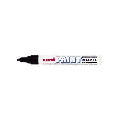 Paint маркер Uni PX-20 Объл връх Бял