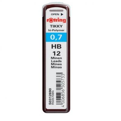 Графити Rotring Hi Polymer HB 0.7 mm