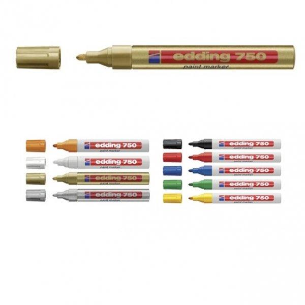 Paint маркер Edding 750 Злато