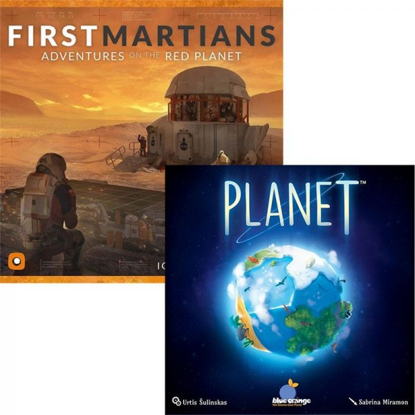 Бъндъл - first martians + planet