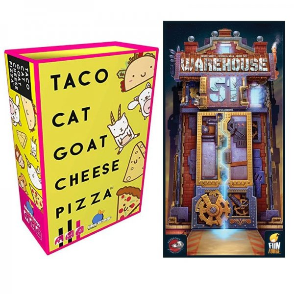Бъндъл - warehouse 51 + taco cat goat cheese pizza