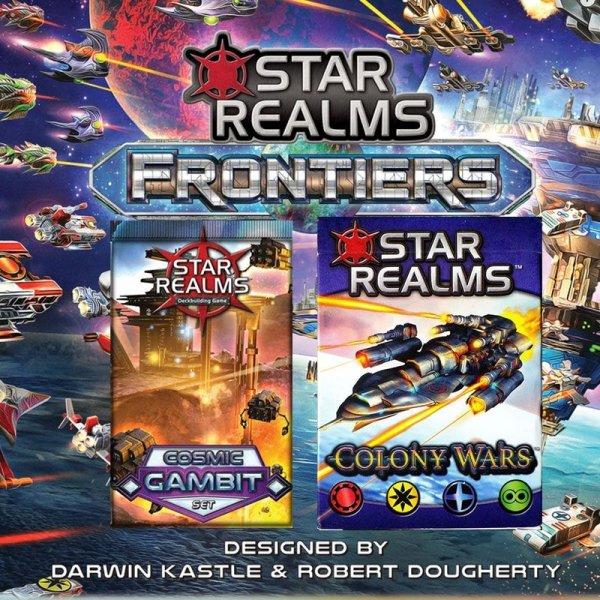 Бъндъл - star realms:frontiers + colony wars + cosmic gambit