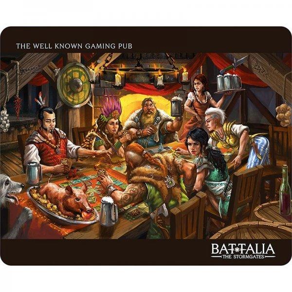 Battalia: Gaming pub gaming pad xl - подложка за мишка