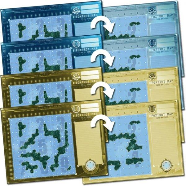 Captain sonar: Foxtrot map