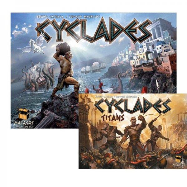 Бъндъл - cyclades + cyclades: Titans