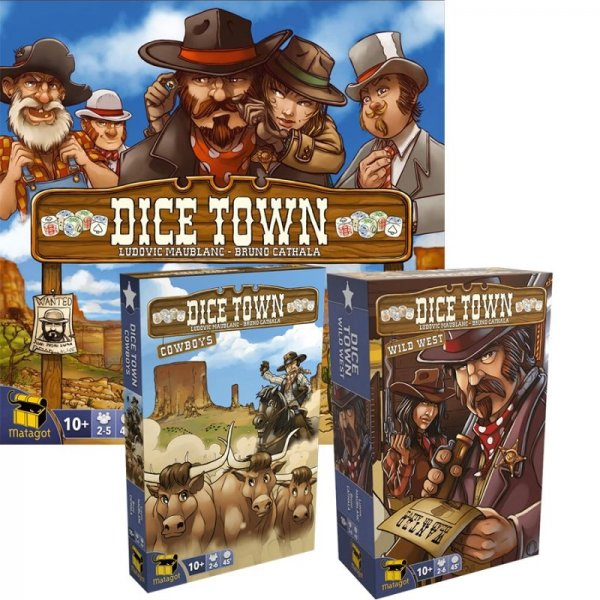 Бъндъл - dice town + cowboys + wild west