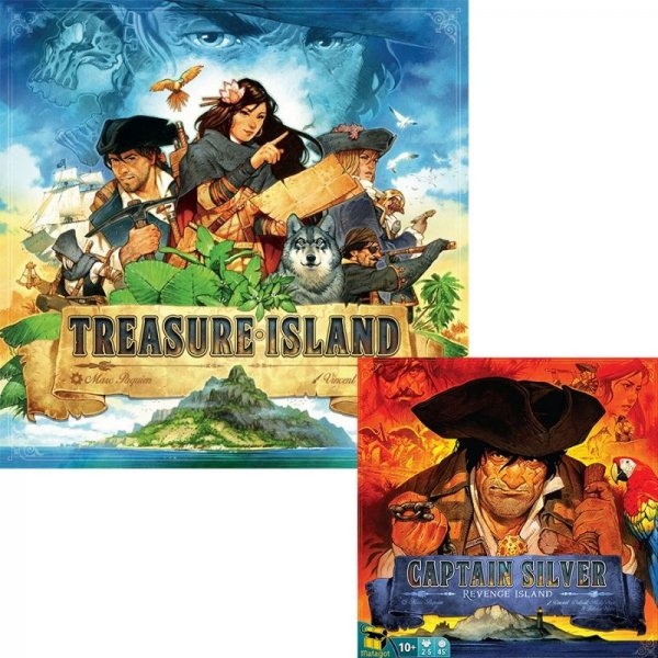 Бъндъл - treasure island + treasure island: Captain silver - revenge island