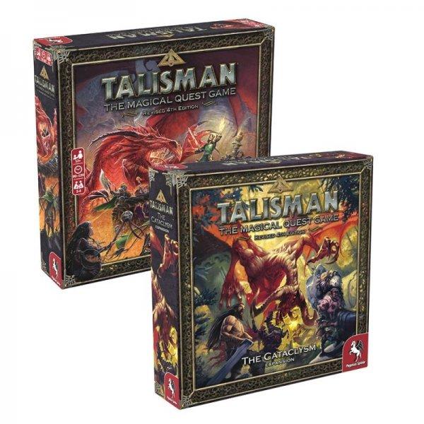 Бъндъл - talisman: Revised 4th edition + talisman: The cataclysm