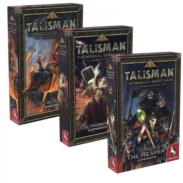 Бъндъл - talisman: The firelands + talisman: The harbinger + talisman: The reaper
