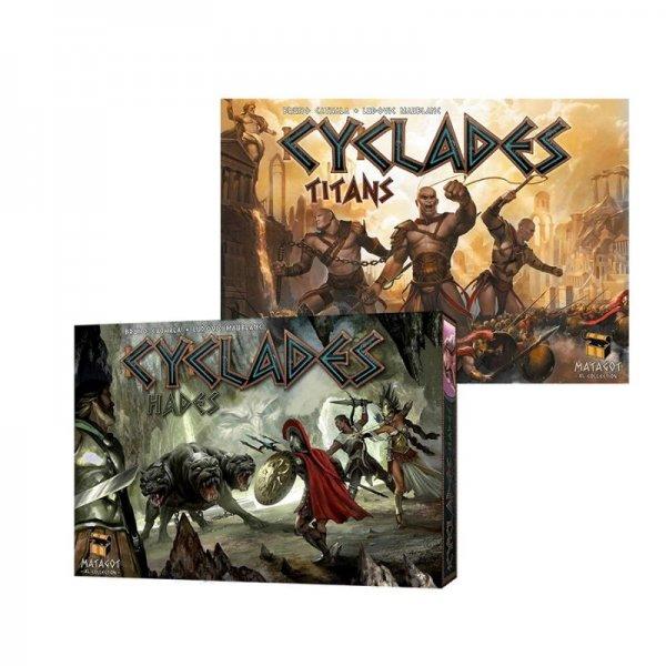 Бъндъл - cyclades: Titans + cyclades: Hades