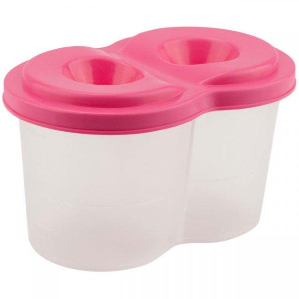 Чаша за рисуване Kite двойна неразливаща Розова