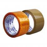 Лепяща опаковъчна лента Хемус безцветна 50 mm x 66 m