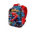 Spiderman раница за детска градина 3d