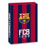 FCBarcelona кутия с ластик А4