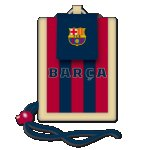 ARS UNA FCBarcelona портмоне за врат