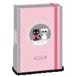 ARS UNA Think Pink А4 кутия с ластик