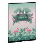 Pink Flamingo тетрадка А5
