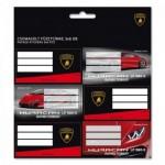 Ars Una Lamborghini ученически етикети