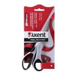 Ножица Axent Duoton 18 cm пластм. дръжки Черен