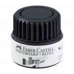 Faber-Castell Мастилница за маркер за бяла дъска Grip, 25 ml, черна