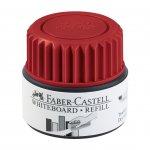 Faber-Castell Мастилница за маркер за бяла дъска Grip, 25 ml, червена