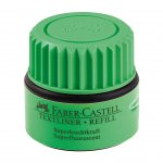 Faber-Castell Мастилница за текст маркер, 25 ml, зелена